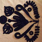 Материалы для творчества ручной работы. Ярмарка Мастеров - ручная работа элементы ирландского кружева. Handmade.