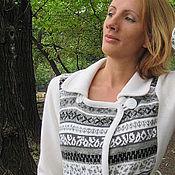 """Одежда ручной работы. Ярмарка Мастеров - ручная работа Пальто """"Север"""". Handmade."""