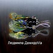 Украшения handmade. Livemaster - original item Pendant Fly-buzzing. Handmade.