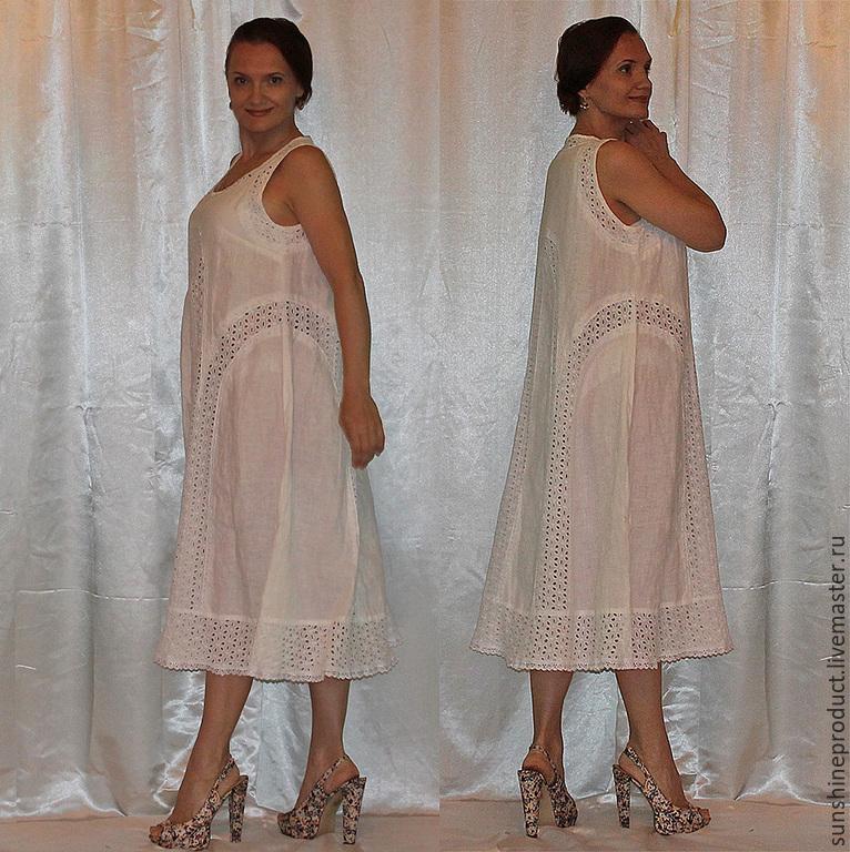 Белый лотос платья купить