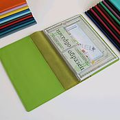 Сумки и аксессуары handmade. Livemaster - original item Organizer: Organizer for documents A4 format light green. Handmade.