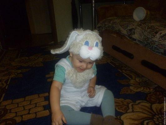 Карнавальные костюмы ручной работы. Ярмарка Мастеров - ручная работа. Купить Озорной зайчик. Карнавальный костюм из флиса. Handmade.
