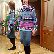 Одежда handmade. Livemaster - original item Wool knitted sweater
