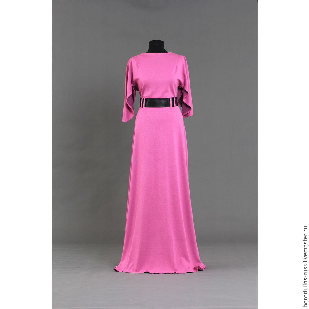 231503ac7a7 Платье длиной в пол из плотного трикотажа. Анна и Алексей Бородулины Платья  ...