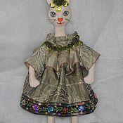Куклы и игрушки ручной работы. Ярмарка Мастеров - ручная работа кошка мартовская. Handmade.