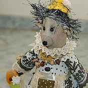 Куклы и игрушки ручной работы. Ярмарка Мастеров - ручная работа Ежиха Аглая Захаровна. Handmade.