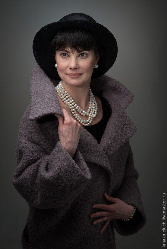 Coat demi-season' In the style of Audrey 2', Coats, Moscow,  Фото №1