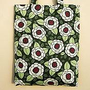 Сумки и аксессуары ручной работы. Ярмарка Мастеров - ручная работа Текстильная сумка Green Ginseng. Handmade.