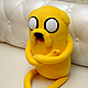 Сказочные персонажи ручной работы. Adventure Time Джейк большой (80 см). Тамара Никитина (Флисовый Уголок). Ярмарка Мастеров. Финн