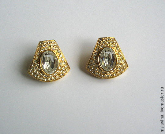 Vintage Givenchy earrings Givenchy, Vintage earrings, Moscow,  Фото №1