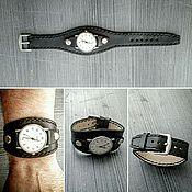 Ремешок для часов ручной работы. Ярмарка Мастеров - ручная работа Ремешок для часов из натуральной кожи ручной работы. Handmade.