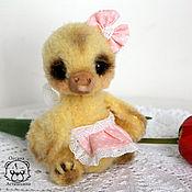 Куклы и игрушки ручной работы. Ярмарка Мастеров - ручная работа Уточка Туся. Handmade.