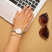 Украшения handmade. Livemaster - original item Swarovski pearl bracelet. Handmade.