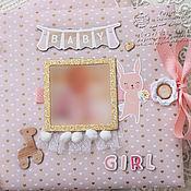 Подарки к праздникам ручной работы. Ярмарка Мастеров - ручная работа Фотоальбом для Маленькой Принцессы. Handmade.