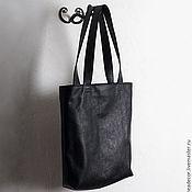 Классическая сумка ручной работы. Ярмарка Мастеров - ручная работа Сумка-пакет из натуральной кожи. Handmade.