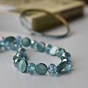 Винтаж handmade. Livemaster - original item Necklaces, clips and bracelets. Handmade.