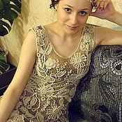 """Одежда ручной работы. Ярмарка Мастеров - ручная работа Платье """"Ирина"""" ирландское кружево в винтажном стиле. Handmade."""