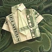 Подарки к праздникам handmade. Livemaster - original item Origami money amulet cash money magnet $ 1. Handmade.