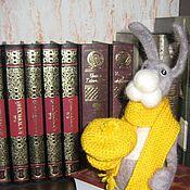 Куклы и игрушки ручной работы. Ярмарка Мастеров - ручная работа кролик Федор. Handmade.