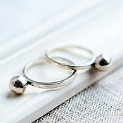 """Украшения ручной работы. Ярмарка Мастеров - ручная работа Кольцо серебро """"Джоли"""", кольцо из серебра женское, серебряное кольцо. Handmade."""