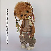 Куклы и игрушки ручной работы. Ярмарка Мастеров - ручная работа Мишка Лизбет. Handmade.