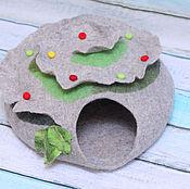 Для домашних животных, ручной работы. Ярмарка Мастеров - ручная работа Кошкин дом - Ягодная полянка. Handmade.