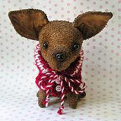 Куклы и игрушки ручной работы. Ярмарка Мастеров - ручная работа Чихуаша в кофточке. Handmade.