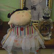 Куклы и игрушки ручной работы. Ярмарка Мастеров - ручная работа Чердачная кукла Балерина с гулями. Текстильная. Подвеска.. Handmade.
