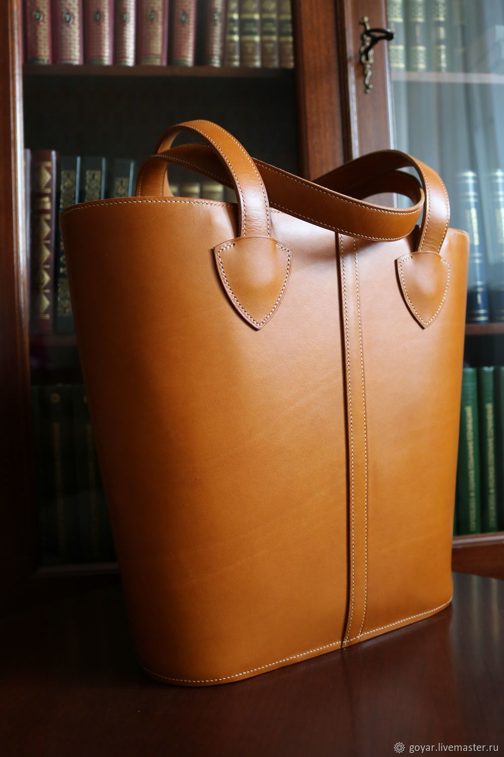 18444bbaa0 Tote bag Leather bag Made by hand – shop online on Livemaster with shipping  - GSI1PCOM | Moscow