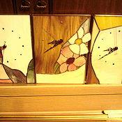 Для дома и интерьера ручной работы. Ярмарка Мастеров - ручная работа Витражные часы  в ассортименте.. Handmade.