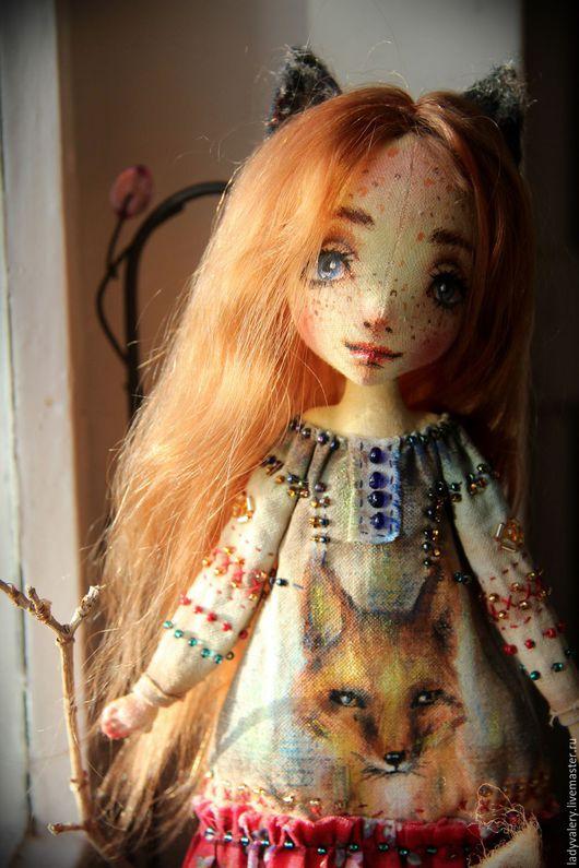 Коллекционные куклы ручной работы. Ярмарка Мастеров - ручная работа. Купить Авторская текстильная кукла Арин. Handmade. Рыжий, doll