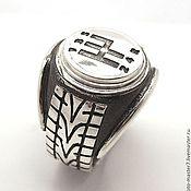 Rings handmade. Livemaster - original item Ring Avtomobilist 925 sterling Silver. Handmade.