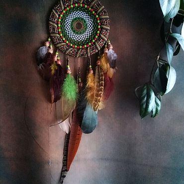 """Феншуй ручной работы. Ярмарка Мастеров - ручная работа Ловец Снов """"Африканка"""". Handmade."""