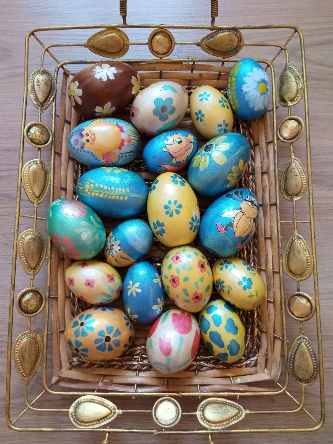 Яйца Пасхальные, деревянные, Народные сувениры, Москва,  Фото №1