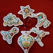 Подарки к праздникам handmade. Livemaster - original item Toy vintage Christmas. Handmade.