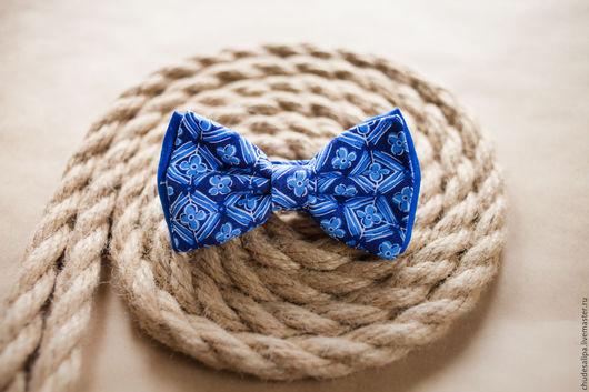Галстуки, бабочки ручной работы. Ярмарка Мастеров - ручная работа. Купить галстук-бабочка. Handmade. Синий, Липецк, бабочка на шею
