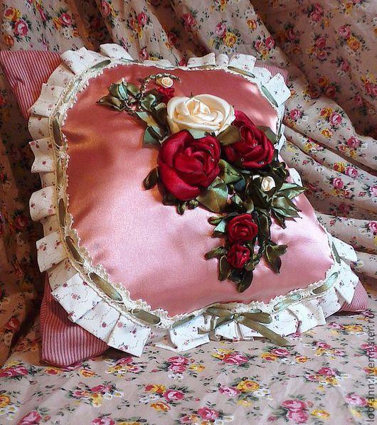Текстиль, ковры ручной работы. Ярмарка Мастеров - ручная работа. Купить подушка. Handmade. Интерьер, диванная подушка