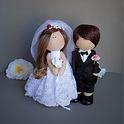 Свадебный салон ручной работы. Ярмарка Мастеров - ручная работа Свадебная пара 6. Handmade.