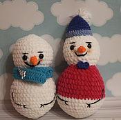 Подарки к праздникам handmade. Livemaster - original item toy Snowman. Handmade.