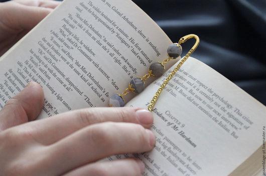 Закладки для книг ручной работы. Ярмарка Мастеров - ручная работа. Купить Закладка для книги. Handmade. Голубой, подарок, подарок ученику