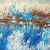 Картины и панно handmade. Livemaster - original item Painting the Cry of gulls. Handmade.