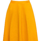 Одежда ручной работы. Ярмарка Мастеров - ручная работа Желтая юбка. Handmade.