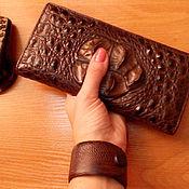 Украшения ручной работы. Ярмарка Мастеров - ручная работа Браслет из кожи. Handmade.