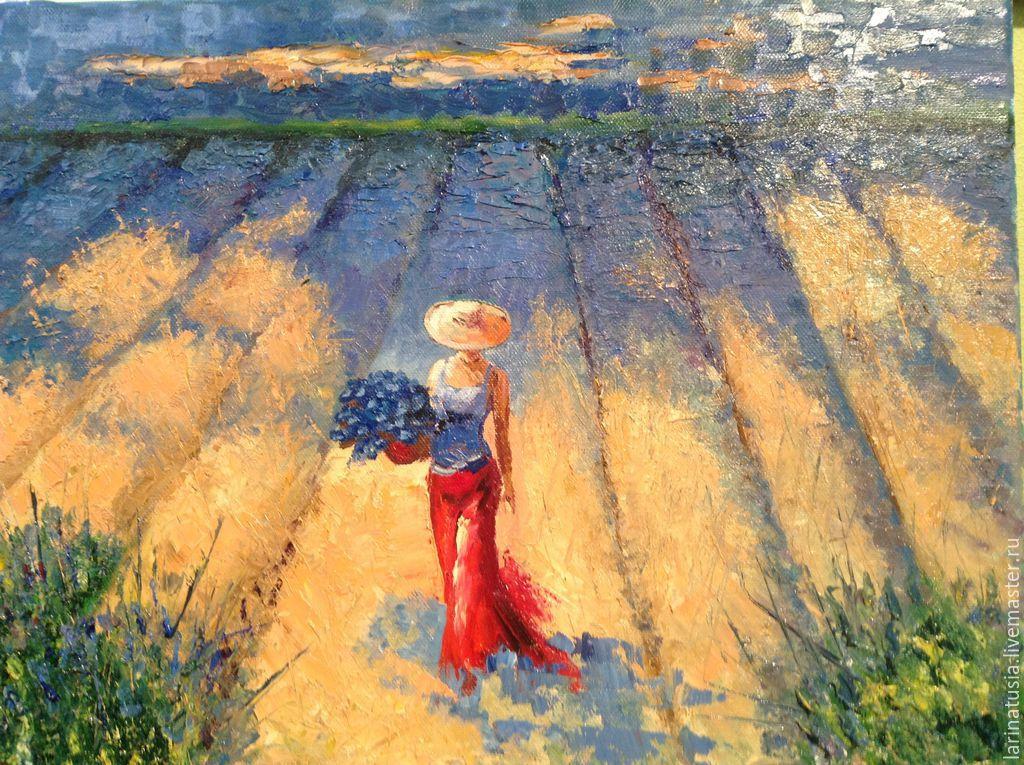 Картина бабы в платьях