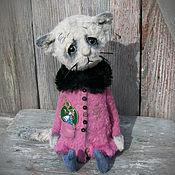 Куклы и игрушки ручной работы. Ярмарка Мастеров - ручная работа Маша. котенок тедди котик тедди. Handmade.