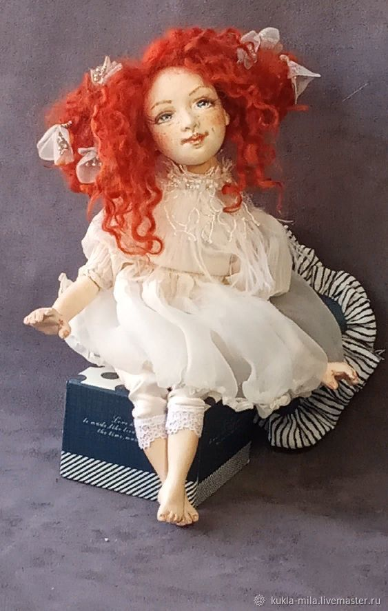 Рыжий ангел Юни, Шарнирная кукла, Самара,  Фото №1