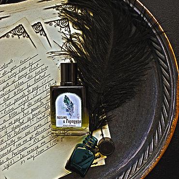 """Косметика ручной работы. Ярмарка Мастеров - ручная работа Духи """"Письмо к Гертруде"""". Handmade."""