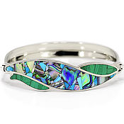 Украшения handmade. Livemaster - original item BRACELET with Malachite, Turquoise, mother of Pearl. Natural stones Bracelet.. Handmade.