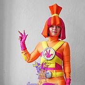Одежда handmade. Livemaster - original item Fiksik Simka. Animator-actor suit. Handmade.