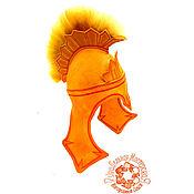 Для дома и интерьера handmade. Livemaster - original item A Roman soldier`s helmet. Handmade.